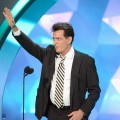 Charlie Sheen speaks onstage during the 2012 MTV Movie Awards at Gibson Amphitheatre in Universal City, Calif. on June 3, 2012