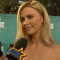 MTV Movie Awards 2012: Charlize Theron's Whirlwind Tour