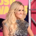 Carrie Underwood arrives at the 2012 CMT Music awards at the Bridgestone Arena in Nashville, Tennessee on June 6, 2012