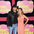 Jason Aldean and Jessica Aldean arrive at the 2012 CMT Music Awards at the Bridgestone Arena in Nashville on June 6, 2012