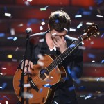 Winner Phillip Phillips performs onstage during Fox's 'American Idol 2012' results show at Nokia Theatre L.A. Live on May 23, 2012