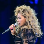 Beyonce performs on stage at Ovation Hall at Revel Resort & Casino  in Atlantic City, NJ, on May 25, 2012