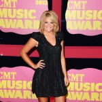Lauren Alaina arrives at the 2012 CMT Music Awards at the Bridgestone Arena in Nashville on June 6, 2012