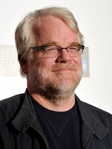 Philip Seymour Hoffman is seen at &#8216;The Ides of March&#8217; photocall in London on October 19, 2011