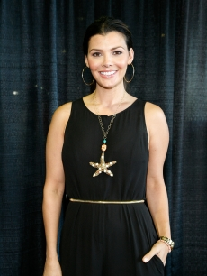 Ali Landry attends the 2012 New York Baby Show at Pier 92 on May 19, 2012