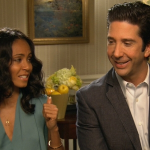 Jada Pinkett Smith & David Schwimmer: Madagascar 3: Europe's Most Wanted Is 'Stunning'