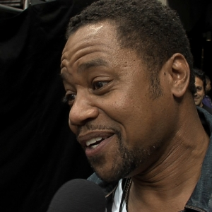 Cuba Gooding Jr. Goes Crazy At The Stanley Cup Finals