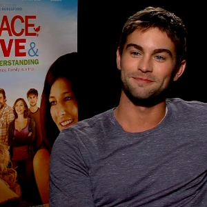 Chace Crawford Talks Peace, Love & Misunderstanding