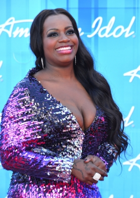 Fantasia Barrino arrives at FOX's 'American Idol 2012' Finale Results Show at Nokia Theatre L.A. Live on May 23, 2012