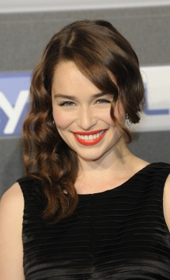 Emilia Clarke attends SKY launch event Party at 'Schuppen 52,' in Hamburg, German, on May 23, 2012