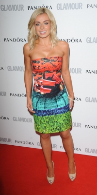 Katherine Jenkins attends Glamour Women of the Year Awards 2012 at Berkeley Square Gardens, London, on May 29, 2012