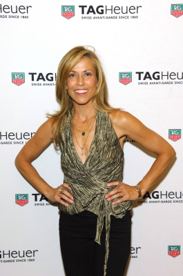 Sheryl Crow arrives at the TAG Heuer LINK Lady Launch Party at the Mix Lounge at THEhotel at Mandalay Bay, Las Vegas, on June 1, 2012