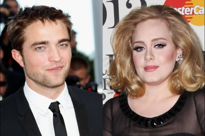 Robert Pattinson, Adele