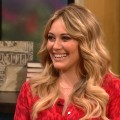Hilary Duff stops by Access Hollywood Live on Jun 18, 2012