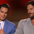 Matt Bomer &amp; Joe Manganiello Dish On The Four Steps To Stripping In Magic Mike