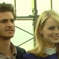 Andrew Garfield & Emma Stone Bring Spider-Man To Top Of The Empire State Building