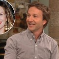 Breckin Meyer stops by Access Hollywood Live on Jun 25, 2012 / inset: Drew Barrymore