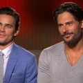 Matt Bomer and Joe Manganiello chat with Access Hollywood at the &#8216;Magic Mike&#8217; junket in Los Angeles on Jun 23, 2012