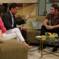 1.	'Dallas' Star Josh Henderson visits the set of Access Hollywood Live to chat with Kit Hoover and guest co-host Chris Harrison on June 26, 2012