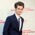 Andrew Garfield is seen at 'The Amazing Spiderman' Los Angeles Premiere at Regency Village Theatre in Westwood, Calif. on June 28, 2012