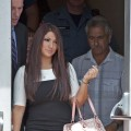 'Jersey Shore's' Deena Nicole Cortese arrives at the Seaside Heights Municipal Court for her arraignment on disorderly conduct charges related to her June 10th arrest on July 3, 2012 in Seaside Heights, New Jersey
