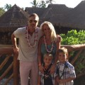 Jason Trawick, Britney Spears and her two sons are seen in Hawaii on July 4, 2012