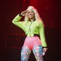 Nicki Minaj performs at Le Zenith in Paris on July 6, 2012