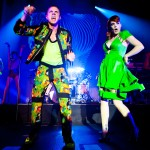Jake Shears and Ana Matronic of Scissor Sisters perform at Hollywood Palladium in Hollywood, Calif. on June 16, 2012