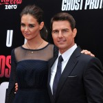 Katie Holmes and Tom Cruise step out at the 'Mission: Impossible - Ghost Protocol' U.S. premiere at the Ziegfeld Theatre in New York City on December 19, 2011
