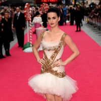 Katy Perry arrives at the European Premiere of &#8216;Katy Perry Part Of Me&#8217; at Empire Leicester Square in London on July 3, 2012