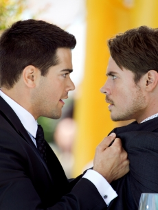 Jesse Metcalfe and Josh Henderson in 'Dallas'