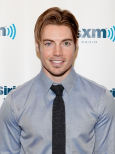 Josh Henderson visits the SiriusXM Studio, New York City, on June 11, 2012