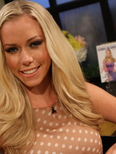 Kendra Wilkinson visits Access Hollywood Live on June 18, 2012