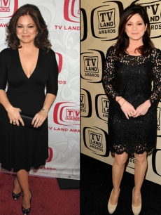Valerie Bertinelli in 2007 (left) and in 2012 (right)