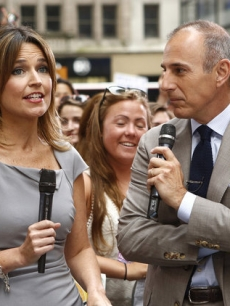 Savannah Guthrie with Matt Lauer on 'Today'