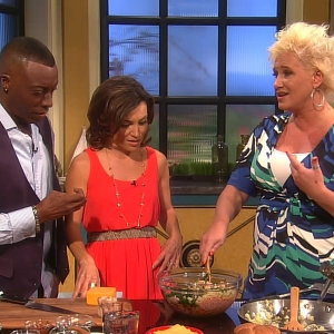 Anne Burrell's Helpful Tips For Healthier Summer Fare!