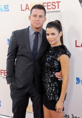 Channing Tatum and Jenna Dewan step out in style at the 2012 Los Angeles Film Festival closing night gala premiere of 'Magic Mike' in Los Angeles on June 24, 2012