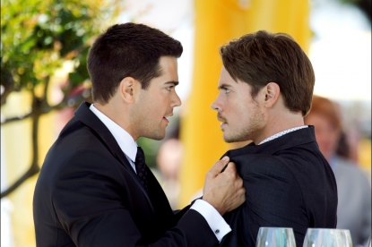 Jesse Metcalfe and Josh Henderson in &#8216;Dallas&#8217;