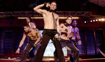 Channing Tatum in a scene from 'Magic Mike'