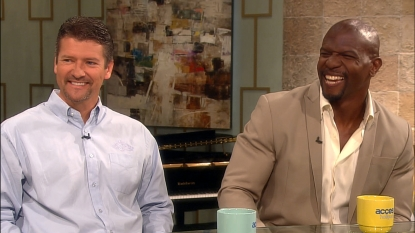 Todd Palin and Terry Crews stop by Access Hollywood Live on June 22, 2012