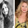 Janis Joplin (left), Nina Arianda (right)