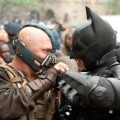 Tom Hardy and Christian Bale in &#8216;The Dark Knight Rises&#8217;