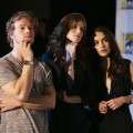 Alfie Allen, Rose Leslie, and Emilia Clarke attend HBO&#8217;s &#8216;Game Of Thrones&#8217; during Comic-Con International 2012 at San Diego Convention Center on July 13, 2012