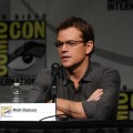 Matt Damon speaks during Sony's 'Elysium' panel during Comic-Con 2012 in San Diego on July 13, 2012