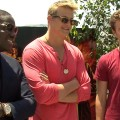 Comic-Con 2012: Jack Quaid, Dayo Okeniyi &amp; Alexander Ludwig Talk Hunger Games Fan Pandemonium