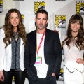 Kate Beckinsale, Colin Farrell and Jessica Biel a seen at Comic-Con 2012 in San Diego on July 13, 2012
