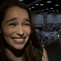 Emilia Clarke Shares Funny Fan Encounter & Talks Game Of Thrones Season 3 - Comic-Con 2012