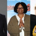 Ryan Seacrest, Whoopi Goldberg, Michael Moore