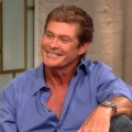 David Hasselhoff on Access Hollywood Live on July 20, 2012
