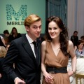 Dan Stevens and Michelle Dockery attend 'An Evening With Downton Abbey - Raising Money For Merlin - The Medical Relief Charity' at The Savoy Hotel, London, on July 14, 2011